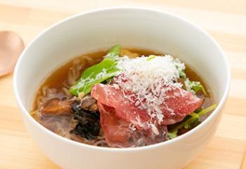 零糖麺の調理例