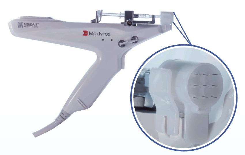 9 needle injection system of neurajetplus